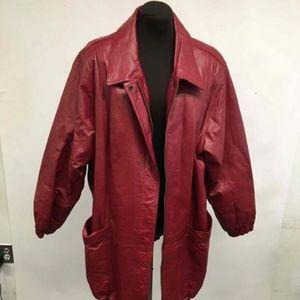 EUC Women's 3XL Genuine Leather Jacket